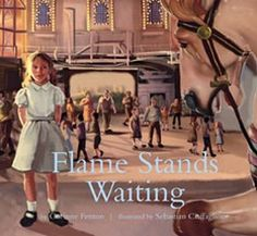 In the a young girl finds her carousel horse ride turns into something magical. With lush illustrations by Sebastian Ciaffaglione. Carousel Horses, Horse Riding, Waiting, The Past, Author, Books, 1930s, Lush, Stage