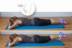 """Bumbum """"duplo"""" - você sabe como é a bunda dupla? É quando seu bumbum tem uma dobrinha de gordura extra. Os melhores movimentos para perder essa gordurinha indesejada são exercícios que combinam exercícios aeróbicos e treinamento de força."""