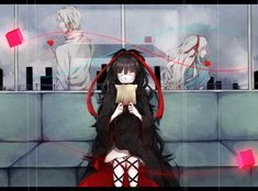 Kagerou Project | Tsukihiko, Azami and Mary