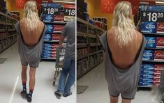 What The Heck is This Guy Wearing??? -or could this be a woman?