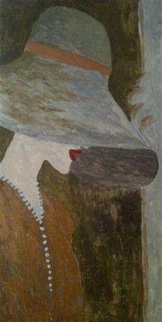 """A Hat for the Races"" - Original Fine Art for Sale - ©Sonia Rumzi"