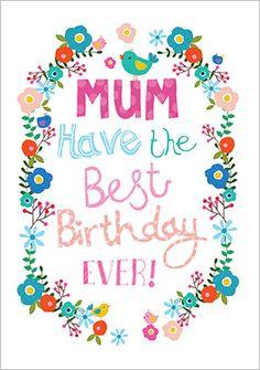 Super Lovely Mum Photo Birthday Card Funky Pigeon Treat Mum On