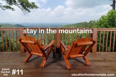 stay in the mountains. #11 on our travel bucket list