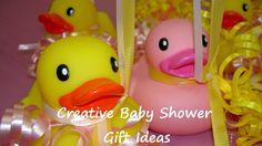 Creative baby shower gift ideas