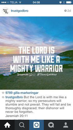 Gud krigar för mig