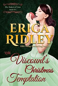 WANT! - The Viscount's Christmas Temptation by Erica Ridley | Release Date: November 1, 2014
