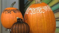 using pumpkins for christmas decorations - Google Search