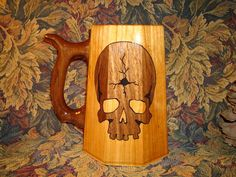 Old Bear Creek- Cracked skull mug