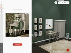 Marxent's Photo to Floorplan™ solution was perfect for a major British furniture and home goods retailer. Clients can now point at a photo and see items appear in their own custom scene. Planner Apps, Room Planner, Room Designer, Ecommerce, Home Goods, British, Scene, 3d, Cabinet