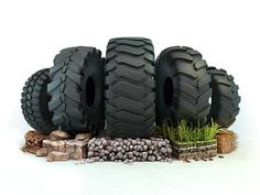 Industrial tires designed by ILYA. the global community for designers and creative professionals. Advert Design, Advertising Design, Branding Design, Logo Design, Advertising Agency, Creative Banners, Ads Creative, Creative Advertising, Display Design