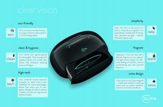 Cliris automatically cleans and scents your glasses in 4 minutes - Images Grease Cleaner, Ergonomic Mouse, Biodegradable Products, Cleaning, Glasses, Easy, Eyewear, Eyeglasses, Eye Glasses