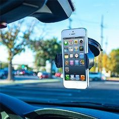 Amazon.com: 360 Rotating Windshield Car Mount Cradle Holder Stand for Samsung Galaxy Note 2 II N7100: Cell Phones & Accessories