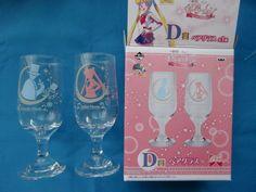 Sailor Moon Ichiban Kuji Prize Pair Glass Moon Usagi Tuxedo Mask Last One | eBay