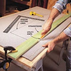 installing cement board