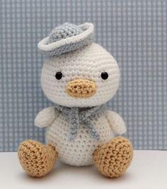 Amigurumi Pattern - Lil Quack by littlemuggles on Etsy https://www.etsy.com/listing/101188342/amigurumi-pattern-lil-quack