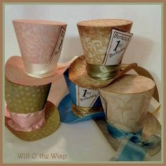Shabby Chic Alice in Wonderland 5 MAD by WillOtheWispWedding