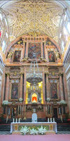 The high altar of the Cathedral of Cordoba
