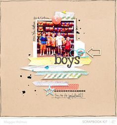 Boys by maggie holmes at Studio Calico January Kits