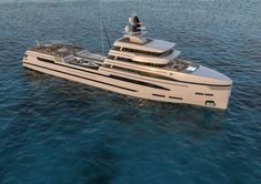 Rosetti Superyachts enters the industry with their first concept Rosetti 85 - an support vessel. The vessel was designed by Tommaso Spadolini. Catamaran, Sailing Yachts, Explorer Yacht, Camper Boat, Rich Life, Super Yachts, Power Boats, Luxury Yachts, Luxury Travel