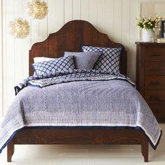 Reversible Organic Cotton Block Print Bedding | VivaTerra