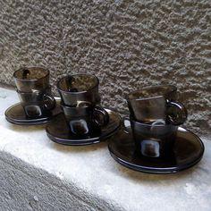 Retro VERECO smoke set of coffee, 60s |