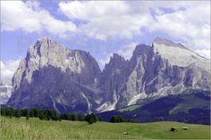 Langkofel Plattkofel / Natur Poster / Berg Poster / Südtirol