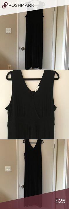 Coldwater Creek black maxi dress Black Coldwater Creek maxi dress Coldwater Creek Dresses Maxi