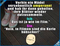 Nicht ganz wie im Film ^^'  Lustige Sprüche und Bilder #Sprüche #Humor #1jux #lustig #Jodel #lustigeSprüche #gemein #peinlich #lustigeBilder