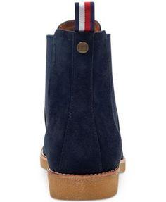 a92cbe719 Tommy Hilfiger Men s Crane Chelsea Boots Men - All Men s Shoes - Macy s