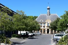 Le centre-ville de Saint-Médard-en-Jalles
