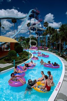 FL311 Florida Kissimmee Water Mania Theme Park Lazy river