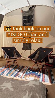 Camping Furniture, Camping Chairs, Tent Camping, Camping Gear, Camping Checklist, Kick Backs, Camping Accessories, Camping Equipment, Kicks