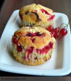 Ribizlis muffin Cakes And More, Oreo, Food And Drink, Cooking Recipes, Cupcakes, Sweets, Cookies, Baking, Breakfast
