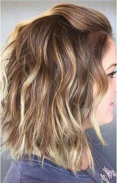 Balayage Hair Short
