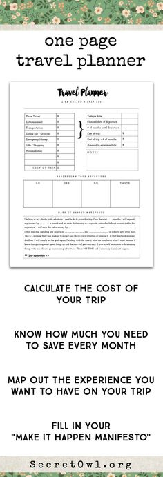 Free Printable Vacation Travel Budget Worksheet Free vacations - vacation budget spreadsheet