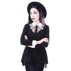 Chemisier Gothique Victorien Gothic Lolita Luna