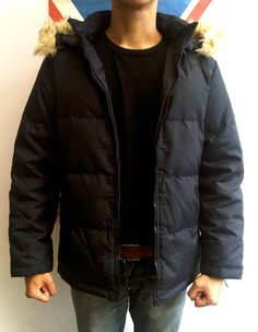 UNIQLO JACKET | size M (fit M) | IDR 119.000 | 95% condition | 'removable zip-off hood' 'removable fur'