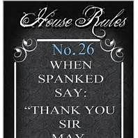 My Inner Dominant House Rules
