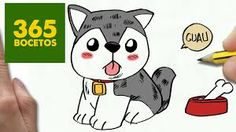 Resultado de imagen de dibujos de lobos sencillos