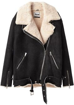 Acne / Velocite Oversized Shearling Jacket