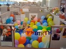 birthday cubicle decorating ideas - Bing images