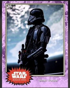 Rogue One': New 'Star Wars' images revealed in Topps Trading Cards Death Troopers #starwars #rogueone #astarwarsstory #Topps