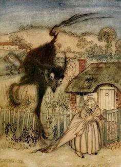 arthur rackham grimm's fairy tales