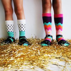 """""""Ummmm how cool are @happysocksofficial .. We are socking up for winter  #happysocks#acolorstory#HappinessEverywhere"""""""