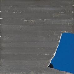Raoul De Keyser, Zeilen, 1979, oil on canvas, 13 3/4 x 13 3/4 in.