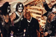KISS and Tupac presenting at the 38th #GRAMMYs in 1996