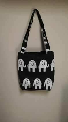 Check out this item in my Etsy shop https://www.etsy.com/listing/245669620/elephant-tote-bag