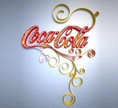 Coke & Quilling...it's like fate!