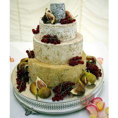 """Tiered round cheese """"cake""""!"""