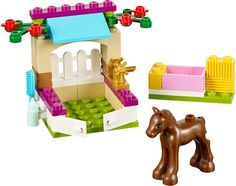 A toy A dream Bela 10533 Friends Little Foal Kits Building Blocks Christmas gift 41089 Model Bricks set Girl Toys Lego Friends Elves, Lego Friends Sets, Friends Series, Legos, Lego Furniture, Lego Toys, Lego Projects, All Toys, Cute Toys